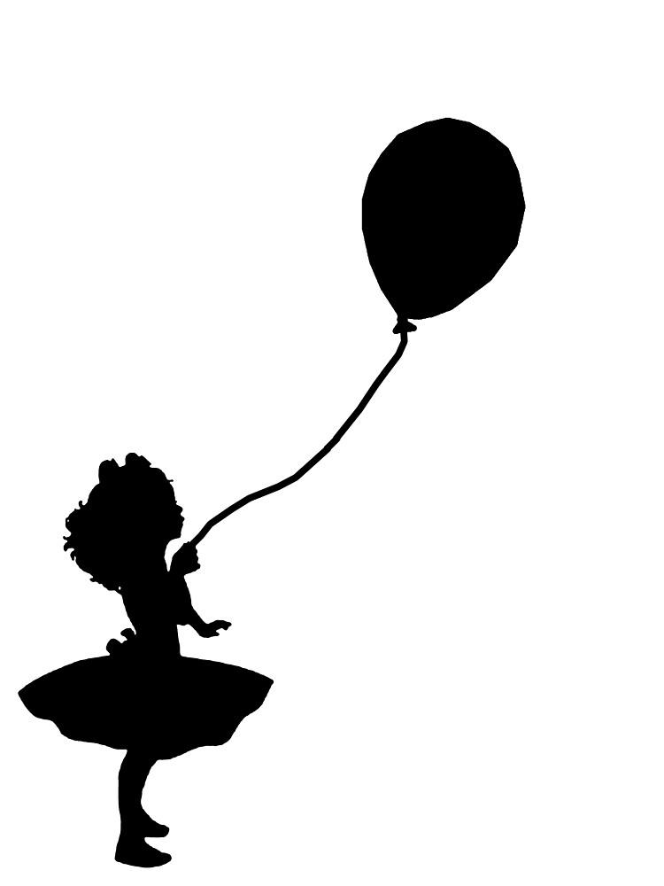 Artist Girl With Balloon