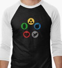 Magic the Gathering: Mana of Time Men's Baseball ¾ T-Shirt