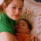 Sweet Sleep in Mom's Arms by Daidalos