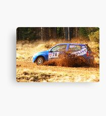 Trip to the Rally 3 Canvas Print