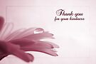 Thank You For Your Kindness - Card by Tracy Friesen