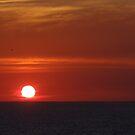 Sunset with some clouds - Puesta del Sol con unas Nubes by PtoVallartaMex