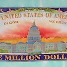 Million Dollar Painting on Silk by FionaStolze