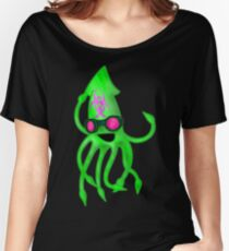 Nuclear Rave Squid Women's Relaxed Fit T-Shirt