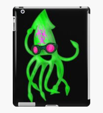 Nuclear Rave Squid iPad Case/Skin