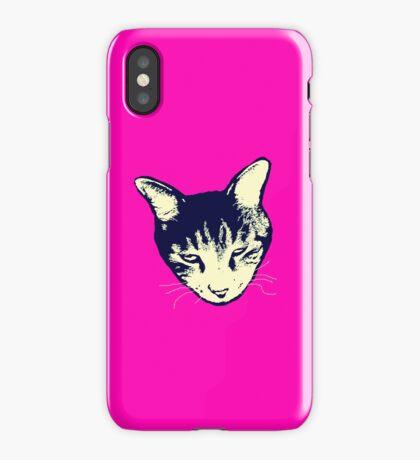 Weird Cat Head iPhone iPhone Case/Skin