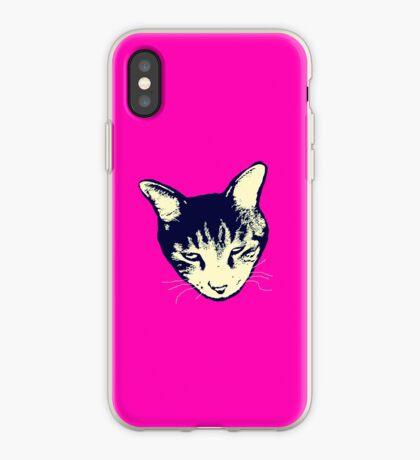 Weird Cat Head iPhone iPhone Case