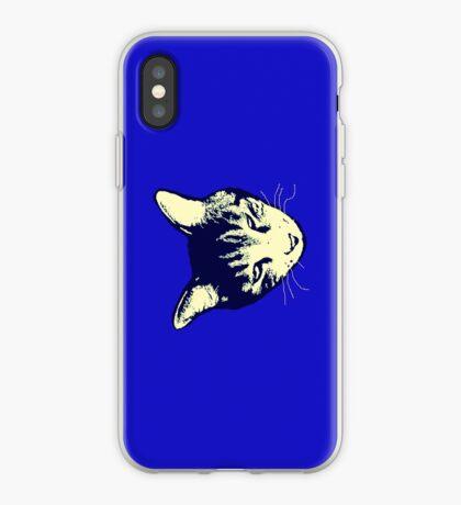 Weird Cat Head iPhone 2 iPhone Case
