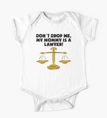 My Mommy Is A Lawyer One Piece - Short Sleeve