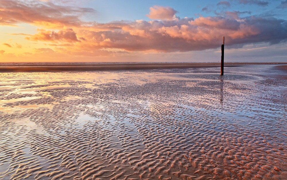 Ripples on the Beach by Robin Whalley
