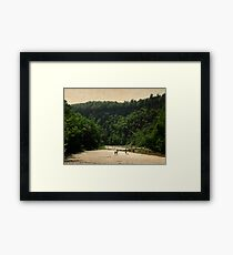 The Gorge Framed Print