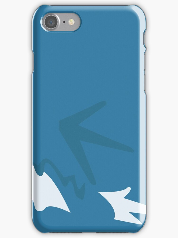 gyarados iphone case by markwalter2747
