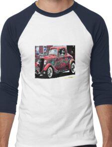 vintage car Men's Baseball ¾ T-Shirt
