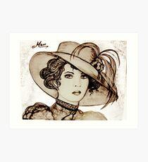 nineteenth century style Art Print