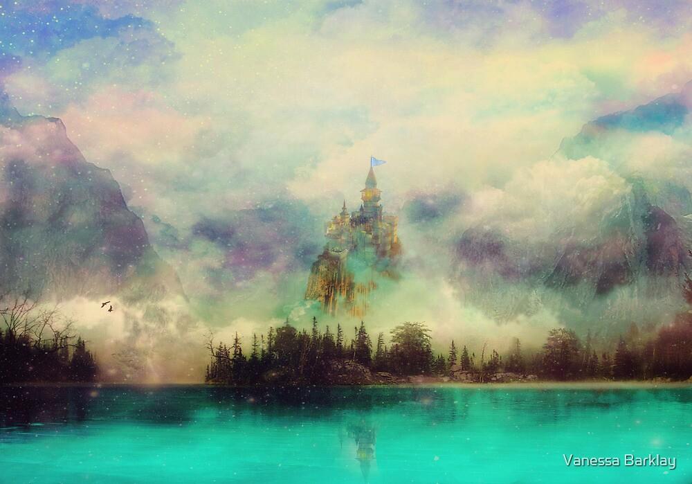 Misty Mountain Castle by Vanessa Barklay