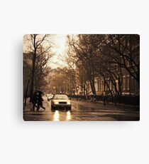 Rain - Greenwich Village - New York City Canvas Print