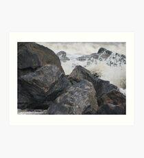 rocks Art Print