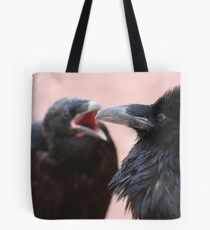 Nagging Raven Tote Bag