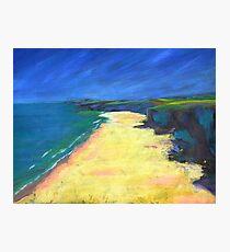 Beach Painting Photographic Print