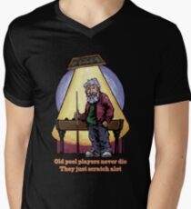 Old Pool Players Men's V-Neck T-Shirt