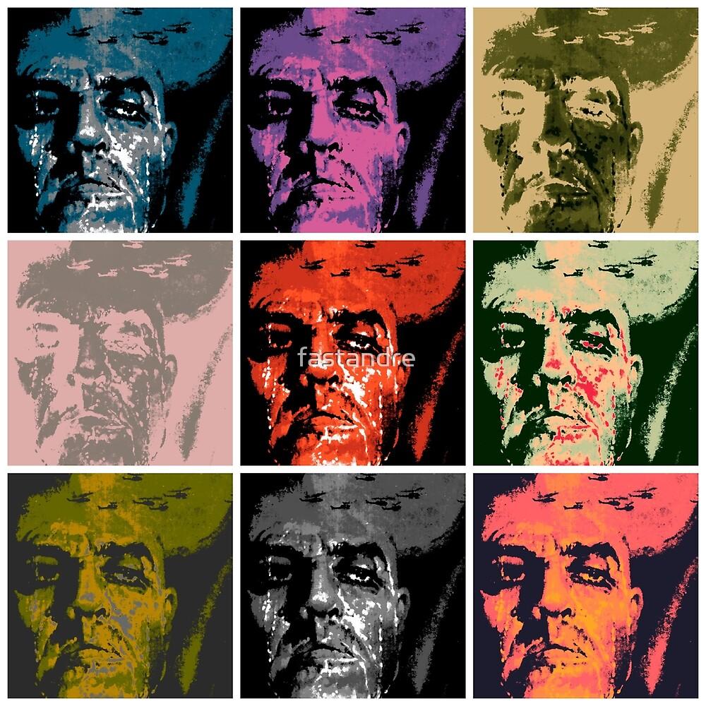 Apocalypse Now Marlon Brando Colonel Kurtz Warhol Pop Art by fastandre