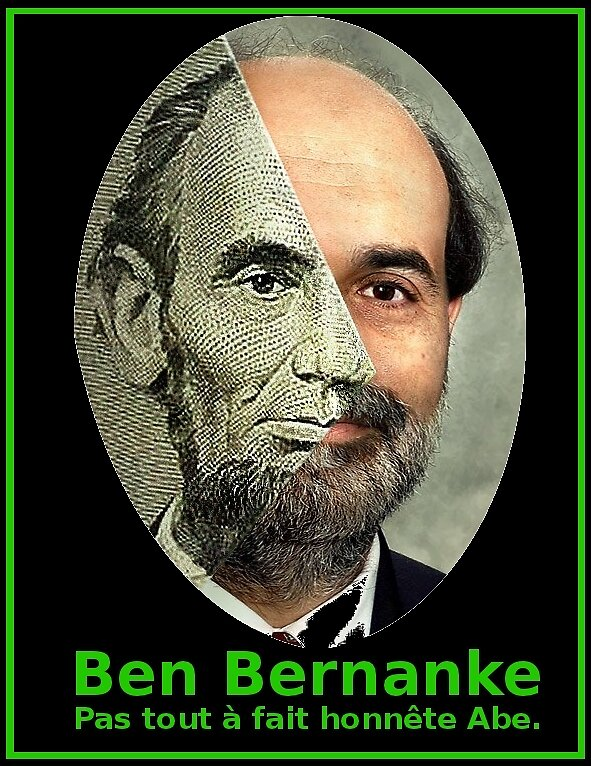 humour options binaires - Lincoln et Bernanke by Binary-Options