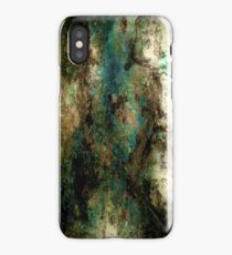 Teal Rust iPhone Case