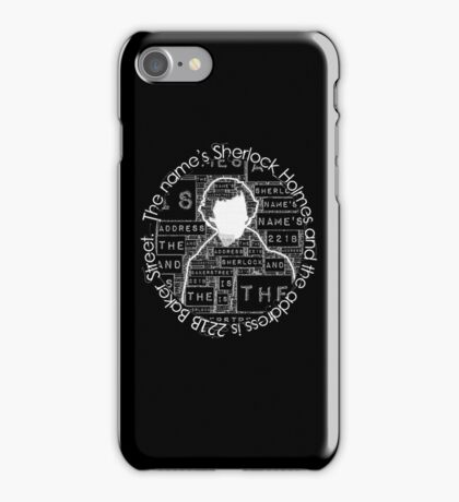 Sherlock BBC: Type iPhone Case/Skin