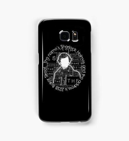 Sherlock BBC: Type Samsung Galaxy Case/Skin
