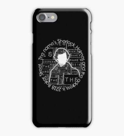 Sherlock BBC: Type iPhone Case/Skin