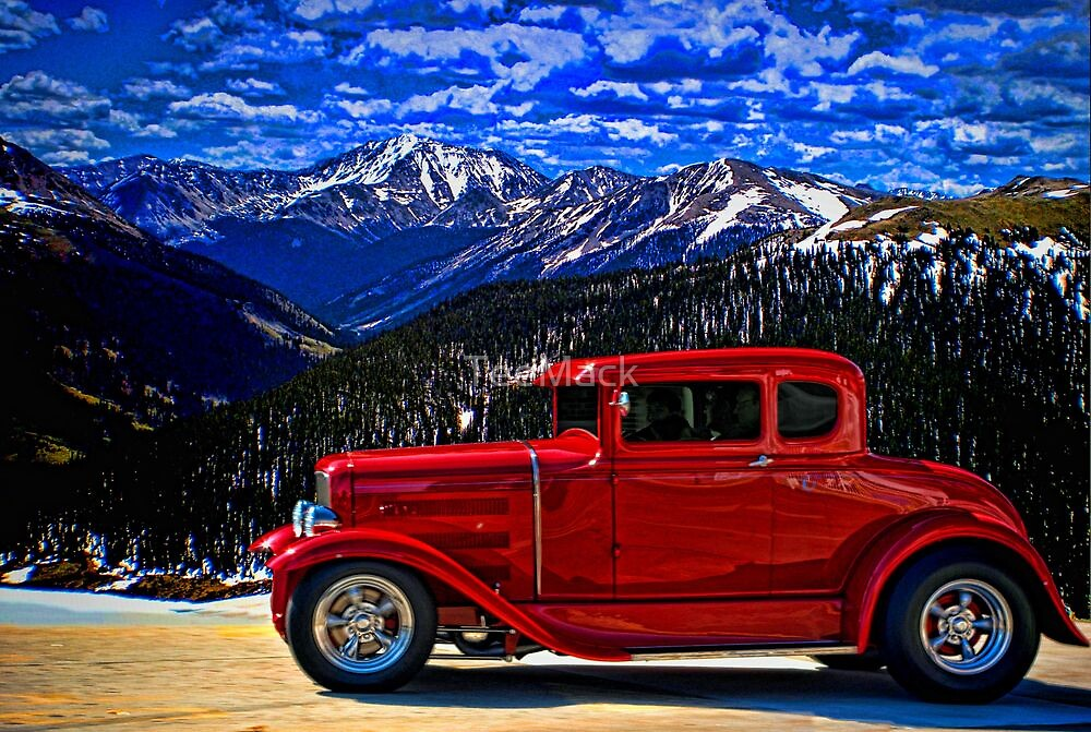 1931 Ford Model A Hot Rod\