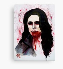 The Blood Countess Canvas Print