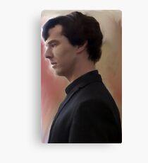 BBC Sherlock Painting Canvas Print