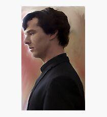 BBC Sherlock Painting Photographic Print