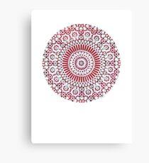 red capricorn Canvas Print