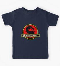 Jurassic Kombat Kids Tee