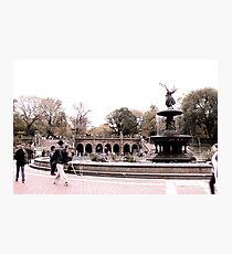 Afternoon At Bethesda Fountain Photographic Print
