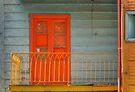 Door and Balcony by Peter Hammer