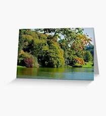 Stourhead - Autumn Folly Greeting Card