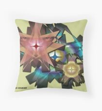 Ribbon Floral Throw Pillow