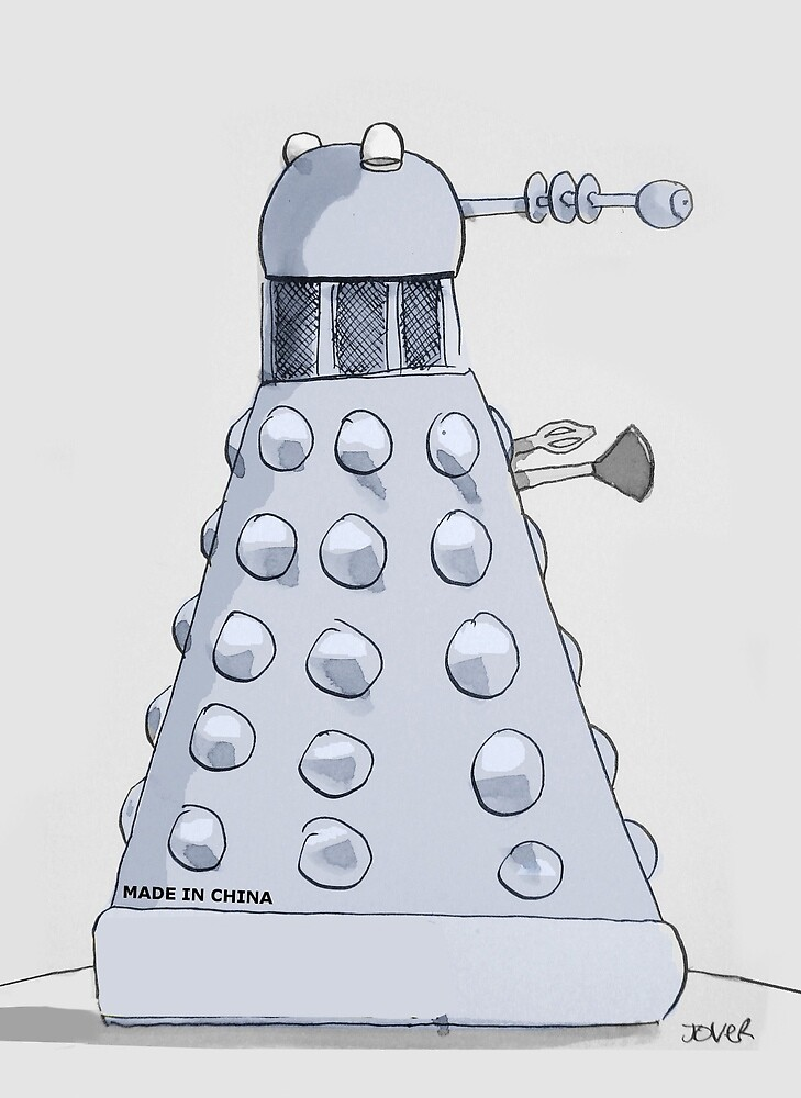 where daleks are really from by Loui  Jover