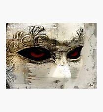 A Transparent Masquerade Photographic Print