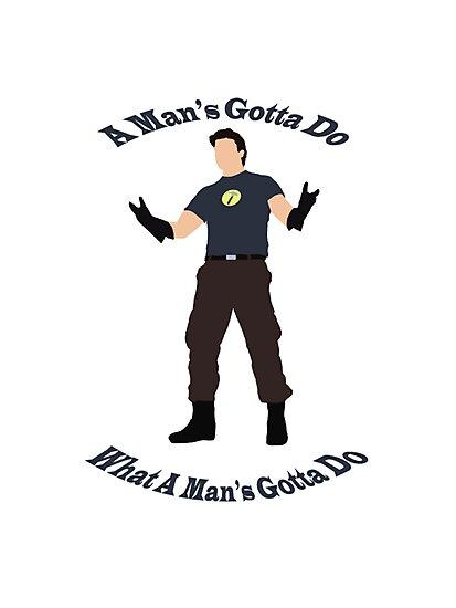 A Man's Gotta Do by CMDebauchery