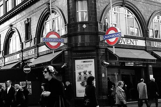 Covent Garden Underground by DuncanPenfold