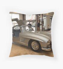 007 James Bond replica car at Bonhams London  Throw Pillow