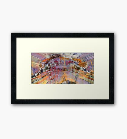 Adventurous... Framed Print