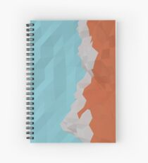 Low Poly - The Mountains Spiral Notebook
