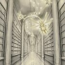 The White Library of the Elder Oeda by tonyhough