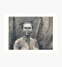 Portrait of Kuntamari Art Print