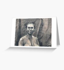 Portrait of Kuntamari Greeting Card